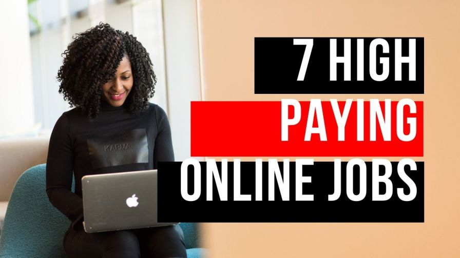 high paying online jobs - work from home