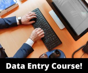 Data Entry Course Online